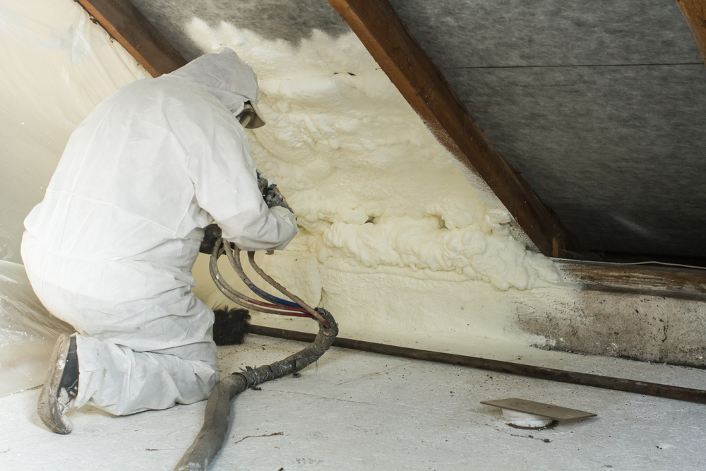 Spray foam insulation in Layton and Provo